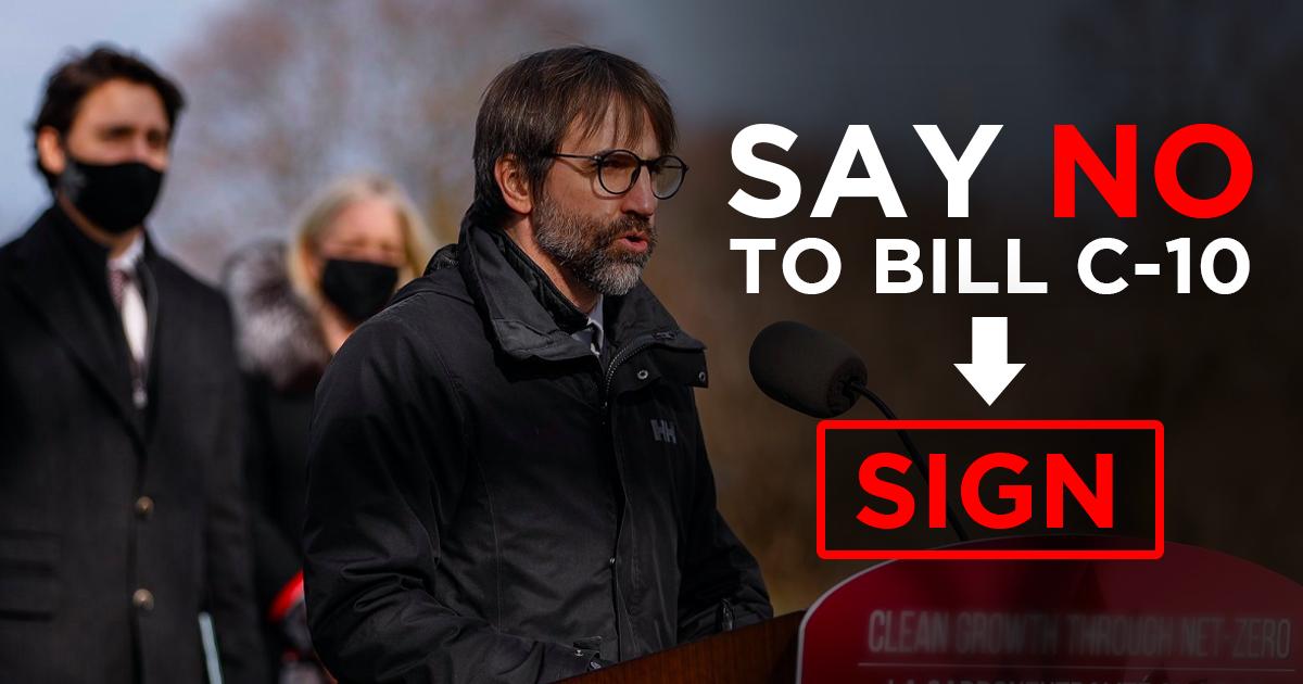 Stop Bill C-10!